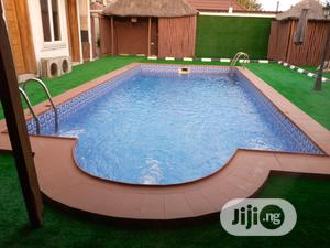 Artificial Grass for Quality Poolside Decoration and Design | Landscaping & Gardening Services for sale in Lagos State, Ikeja