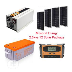 2.5kva 12v + 200ah Battery+Panels   Solar Energy for sale in Lagos State, Lekki