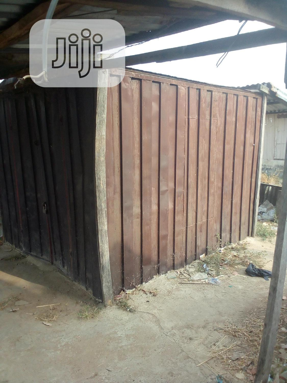 Archive: Container and Space For Sale Inside University of Abuja Main