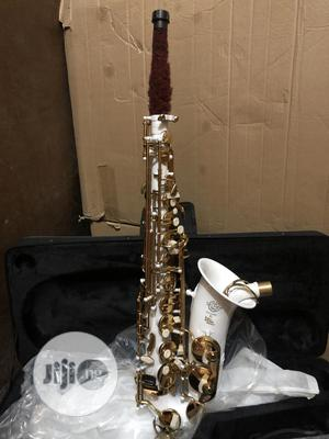 The Best Quality Selmer Alto Saxophone White As Gold Colour | Musical Instruments & Gear for sale in Lagos State, Ojo