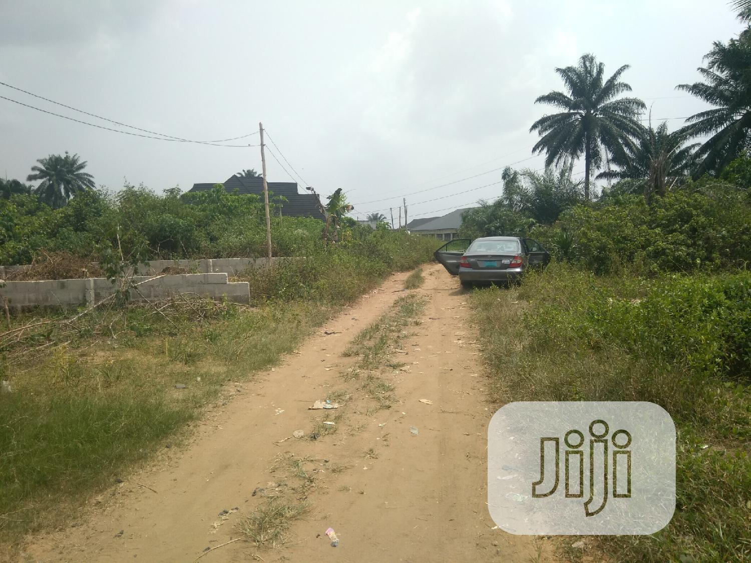 Half Plot of Land for Sale | Land & Plots For Sale for sale in Obio-Akpor, Rivers State, Nigeria