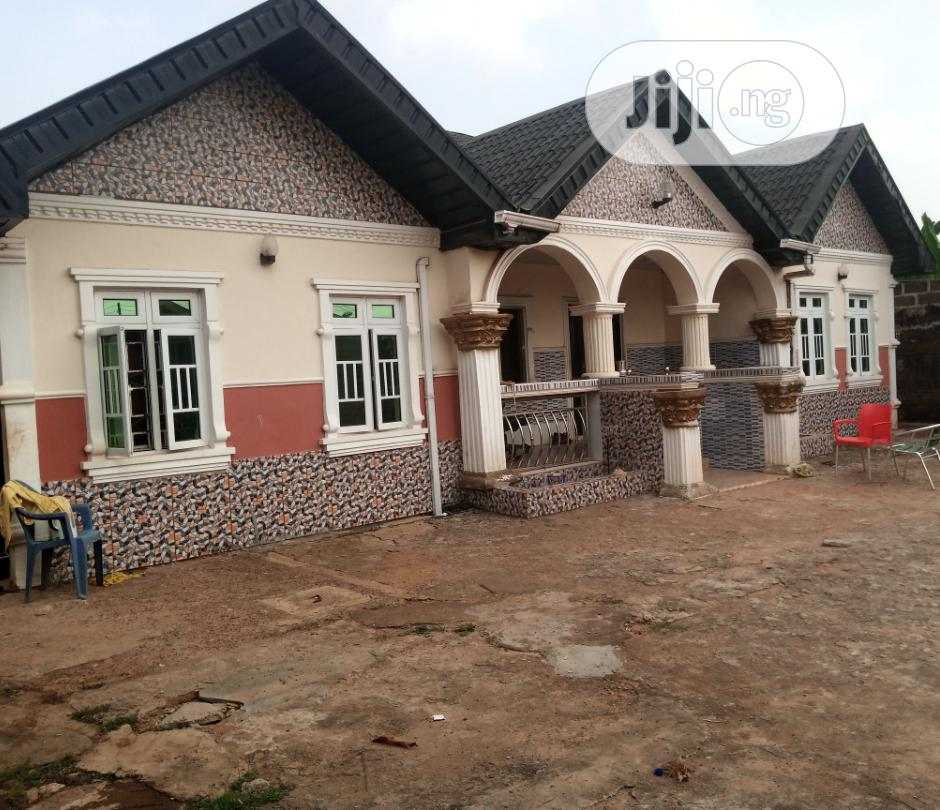 Archive: 4 Bedroom Bungalow On A Plot For Sale At Ayobo Olorunishola