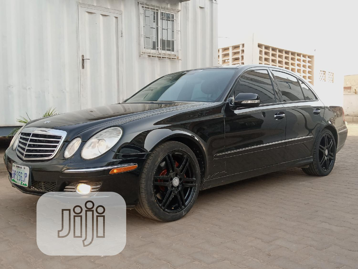 Archive: Mercedes-Benz E350 2007 Black