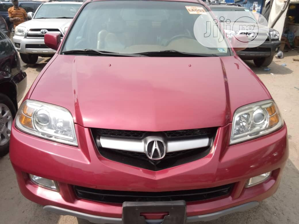 Archive: Acura MDX 2005 Red