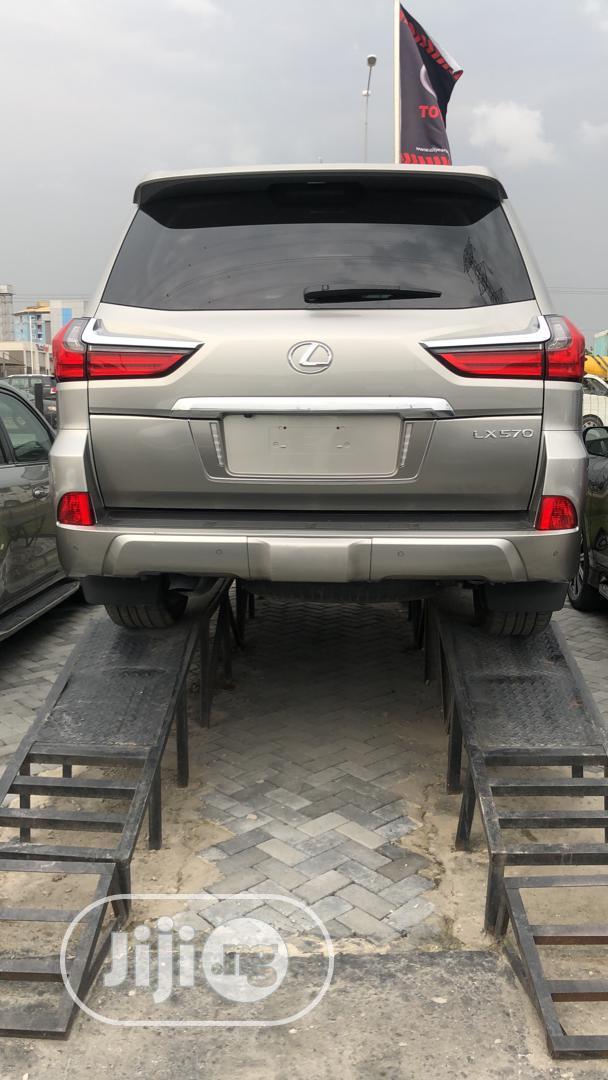 New Lexus LX 2020 570 Three-Row Beige | Cars for sale in Lekki, Lagos State, Nigeria