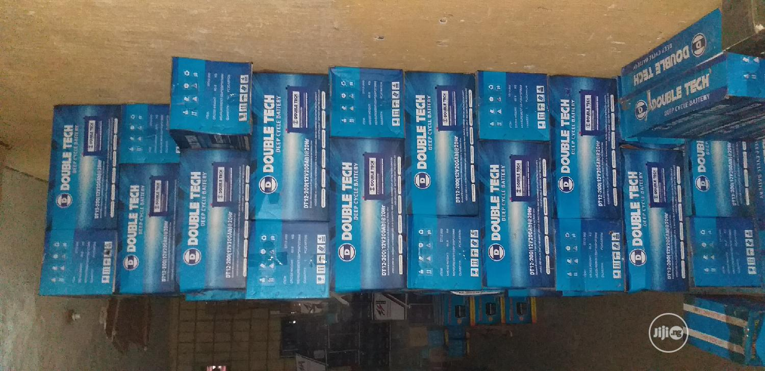 Ss Power Solar Inverter Batteries 12V 200ah | Solar Energy for sale in Amuwo-Odofin, Lagos State, Nigeria