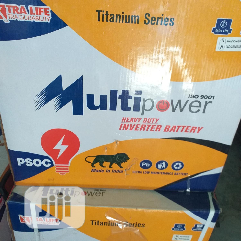 Multi Power Tubular Batteries 12V 220A