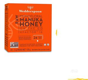 Wedderspoon 100% Raw Manuka Honey Kfactor 16 24 Count 120g. | Meals & Drinks for sale in Lagos State, Amuwo-Odofin