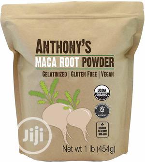 Anthony's Organic Maca Root Powder, Gelatinized, 454g   Sexual Wellness for sale in Lagos State, Lekki