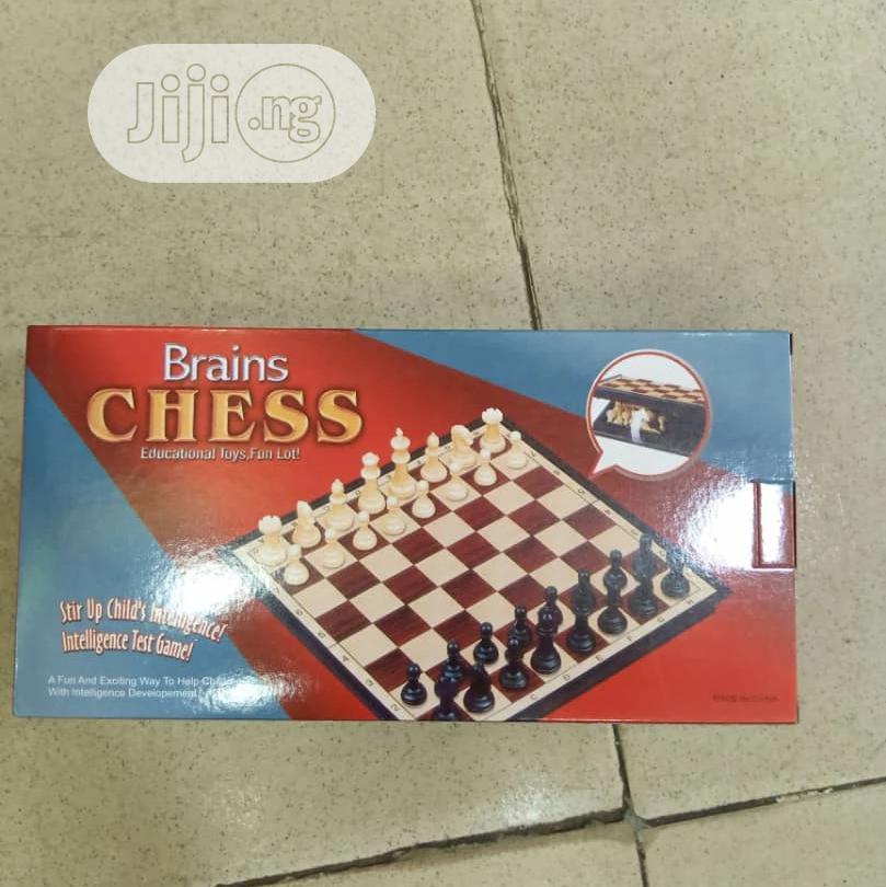 Brain Chess Board