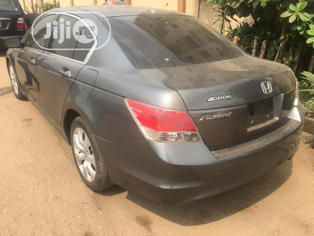Honda Accord 2008 2.4 EX Automatic Gray | Cars for sale in Ikeja, Lagos State, Nigeria