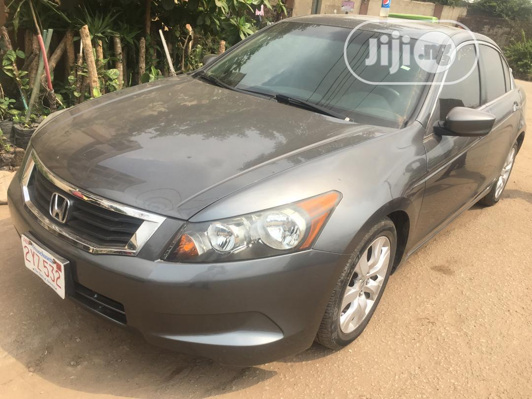 Honda Accord 2008 2.4 EX Automatic Gray