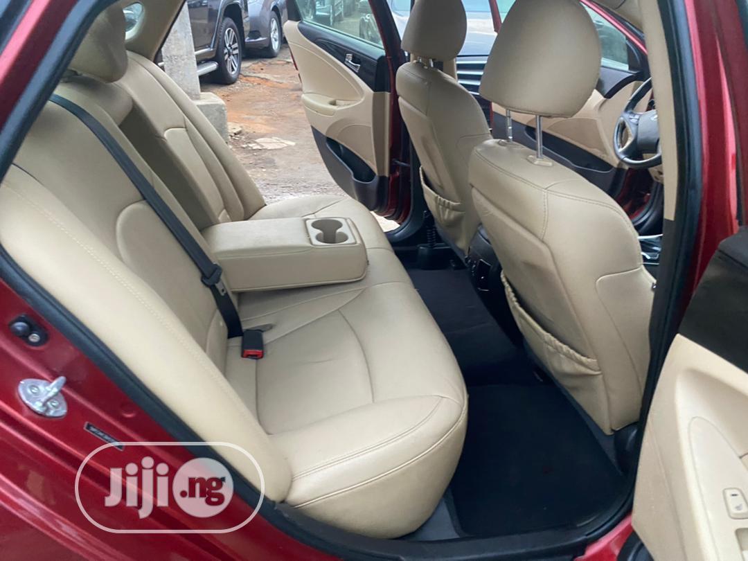 Hyundai Sonata 2011 Red | Cars for sale in Ikeja, Lagos State, Nigeria