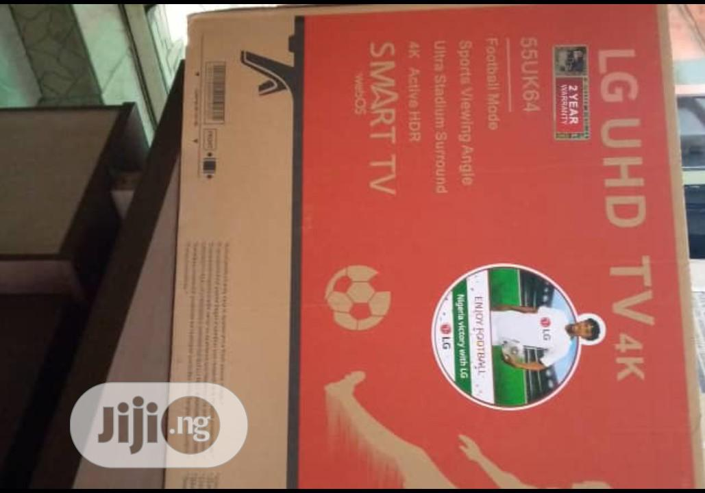55 Inches LG Smart Television | TV & DVD Equipment for sale in Magodo, Lagos State, Nigeria