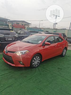 Toyota Corolla 2016 Red   Cars for sale in Lagos State, Ilupeju