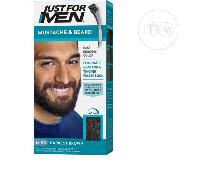 Just for Men Mustache Beard,Beard Coloring for Gray Hair B