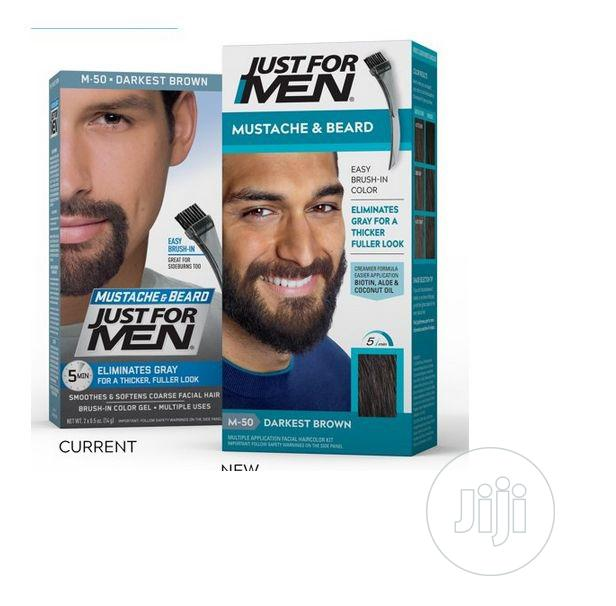 Just for Men Mustache Beard,Beard Coloring for Gray Hair B | Hair Beauty for sale in Amuwo-Odofin, Lagos State, Nigeria