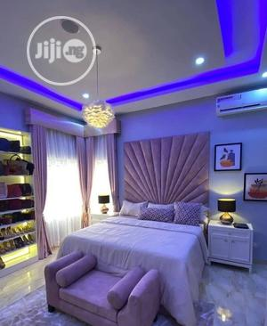 6/6 Royalty Bedframe With an Ottoman Bench and 2side Tables | Furniture for sale in Lagos State, Lekki