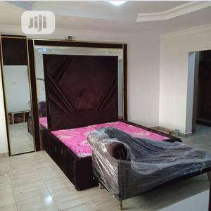 6/6 Bedframe,2side Drawers,Ottoman Bench | Furniture for sale in Lagos State, Ikoyi