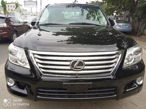 Lexus LX 2009 570 Black   Cars for sale in Lagos State, Surulere