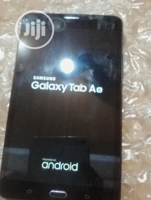 Samsung Galaxy Tab a 7.0 16 GB Black   Tablets for sale in Ikeja, Lagos State, Nigeria