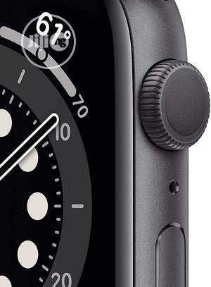 Apple Watch Series 6 (GPS, 44mm) - Space Gray Aluminum Case   Smart Watches & Trackers for sale in Lagos State, Ikeja