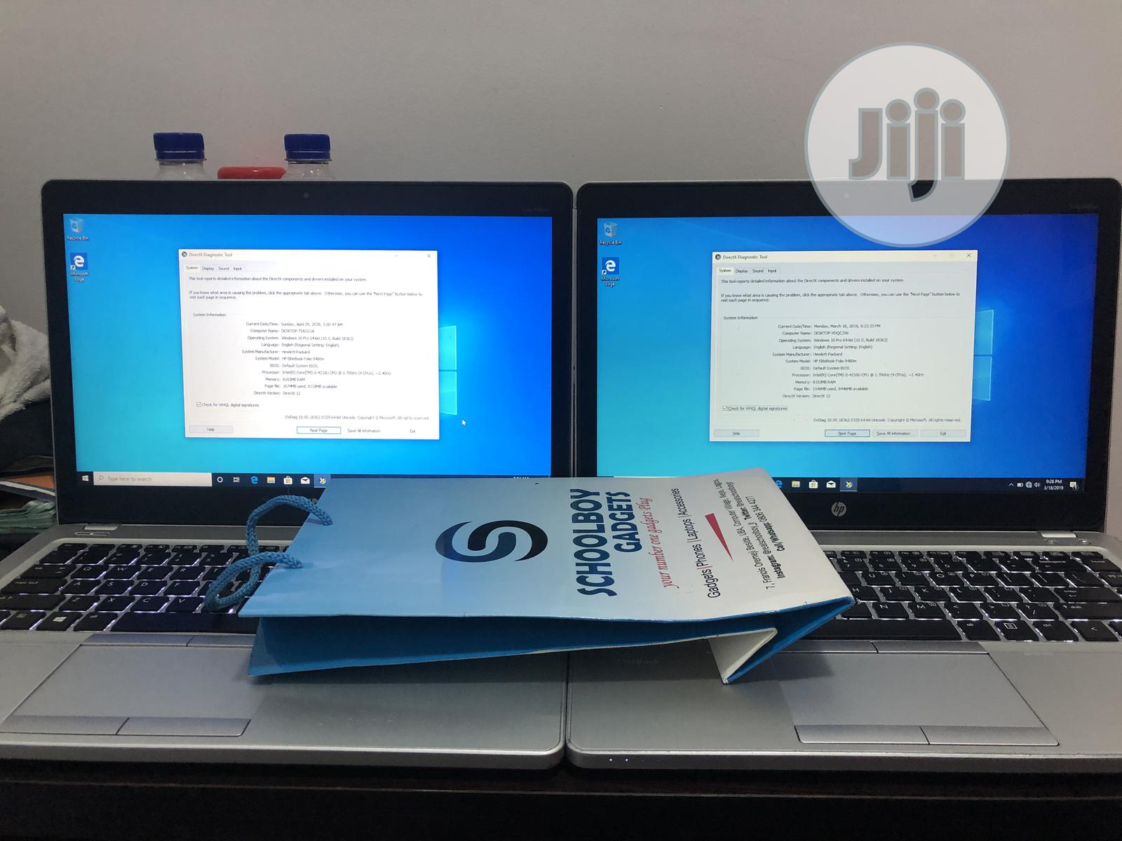 Laptop HP EliteBook Folio 9480M 8GB Intel Core I5 HDD 500GB