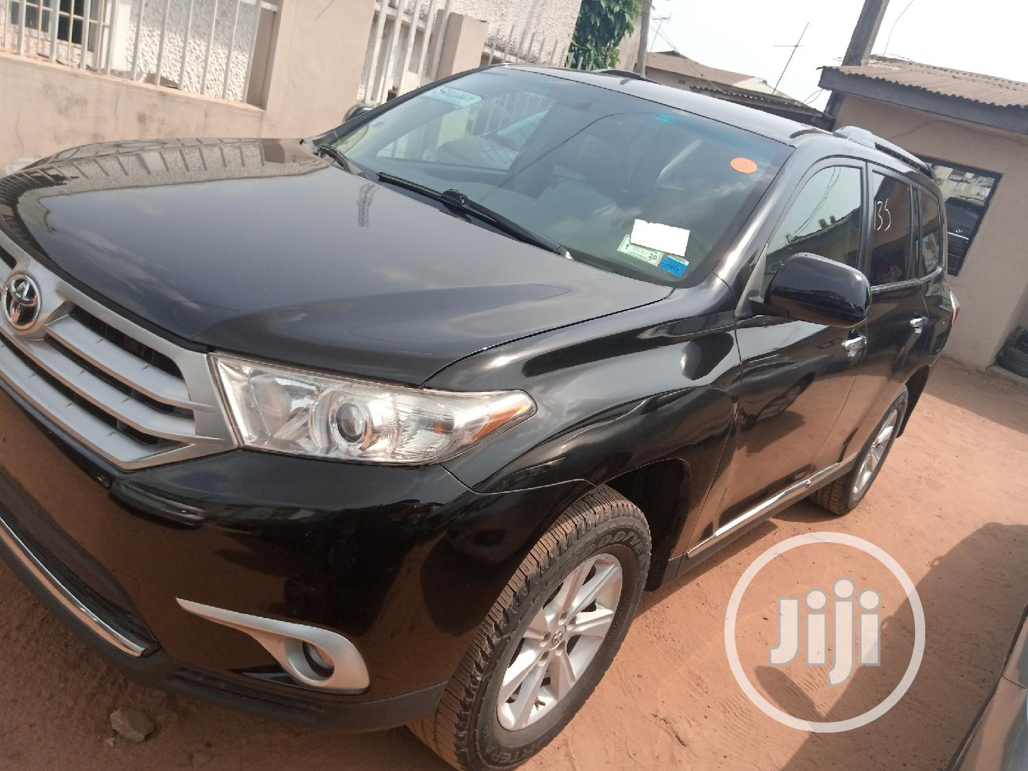 Toyota Highlander 2012 Limited Black | Cars for sale in Onitsha, Anambra State, Nigeria