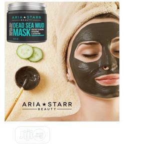 Aria Starr Beauty Sea Mud Mask -Face, Acne, Oily Skin Blac | Skin Care for sale in Lagos State, Amuwo-Odofin