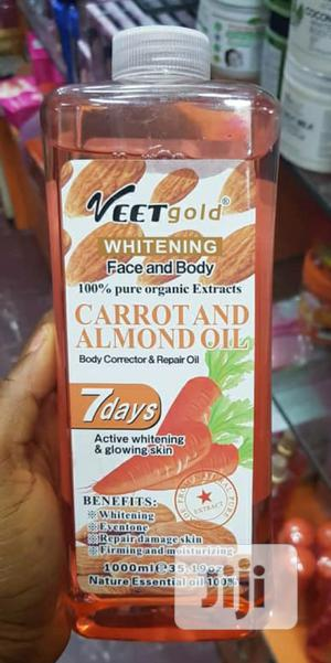 Veet Gold Carrot and Almond Oil | Skin Care for sale in Lagos State, Ikeja