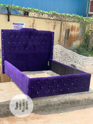 4nd Half by 6 Upholstery Bedframe | Furniture for sale in Lagos State, Ojo