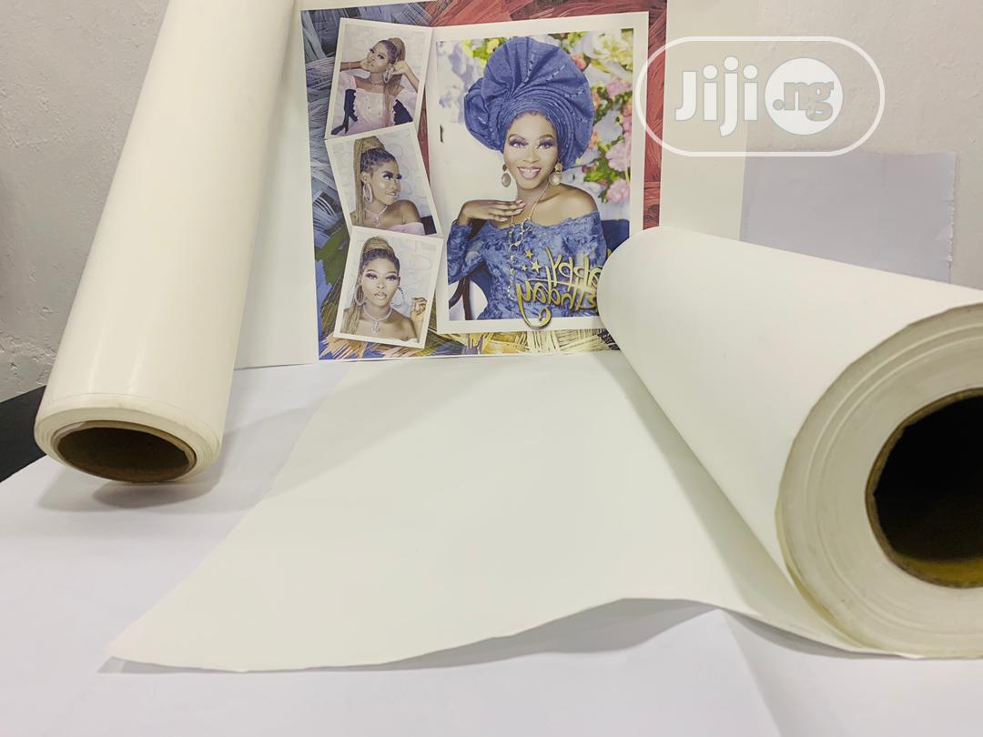 Sublimation Paper Rolls (Subli Easy) | Stationery for sale in Surulere, Lagos State, Nigeria