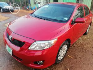 Toyota Corolla 2009 Red   Cars for sale in Abuja (FCT) State, Katampe
