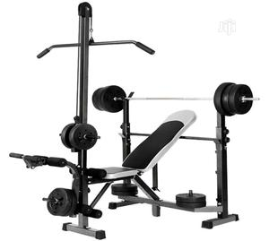 6 in 1 Multi Station Incline,Flat and Decline Weight Bench | Sports Equipment for sale in Rivers State, Port-Harcourt