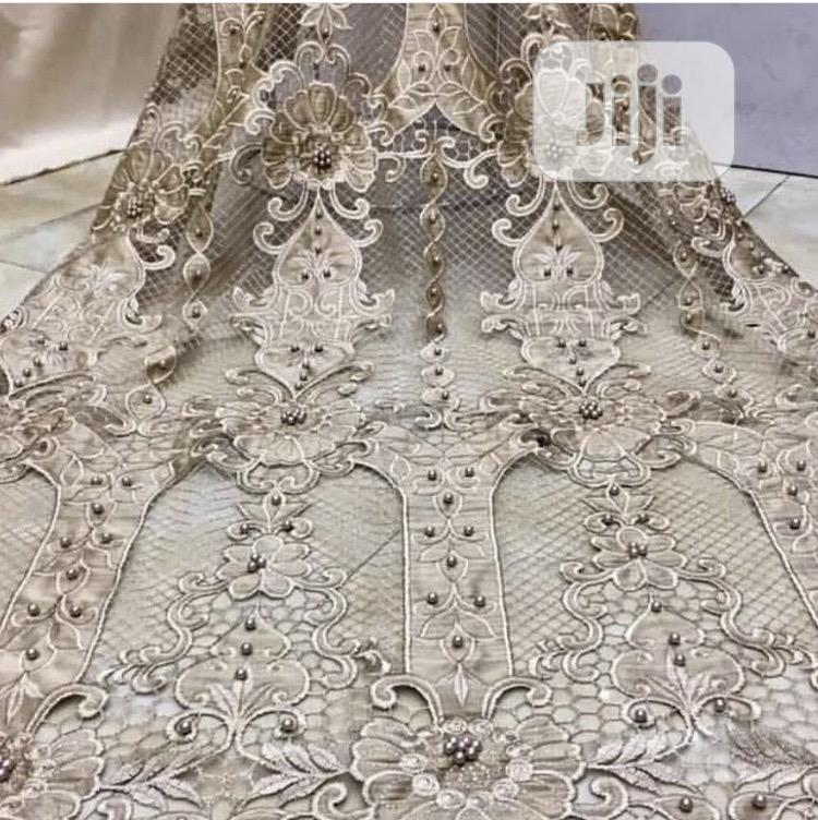 Luxury Tulle With Beads and Embroidery