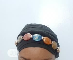 Classy Head Tie Scarf With Quality Beads | Clothing Accessories for sale in Lagos State, Ajah