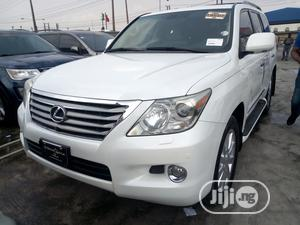 Lexus LX 2009 570 White   Cars for sale in Lagos State, Ikeja