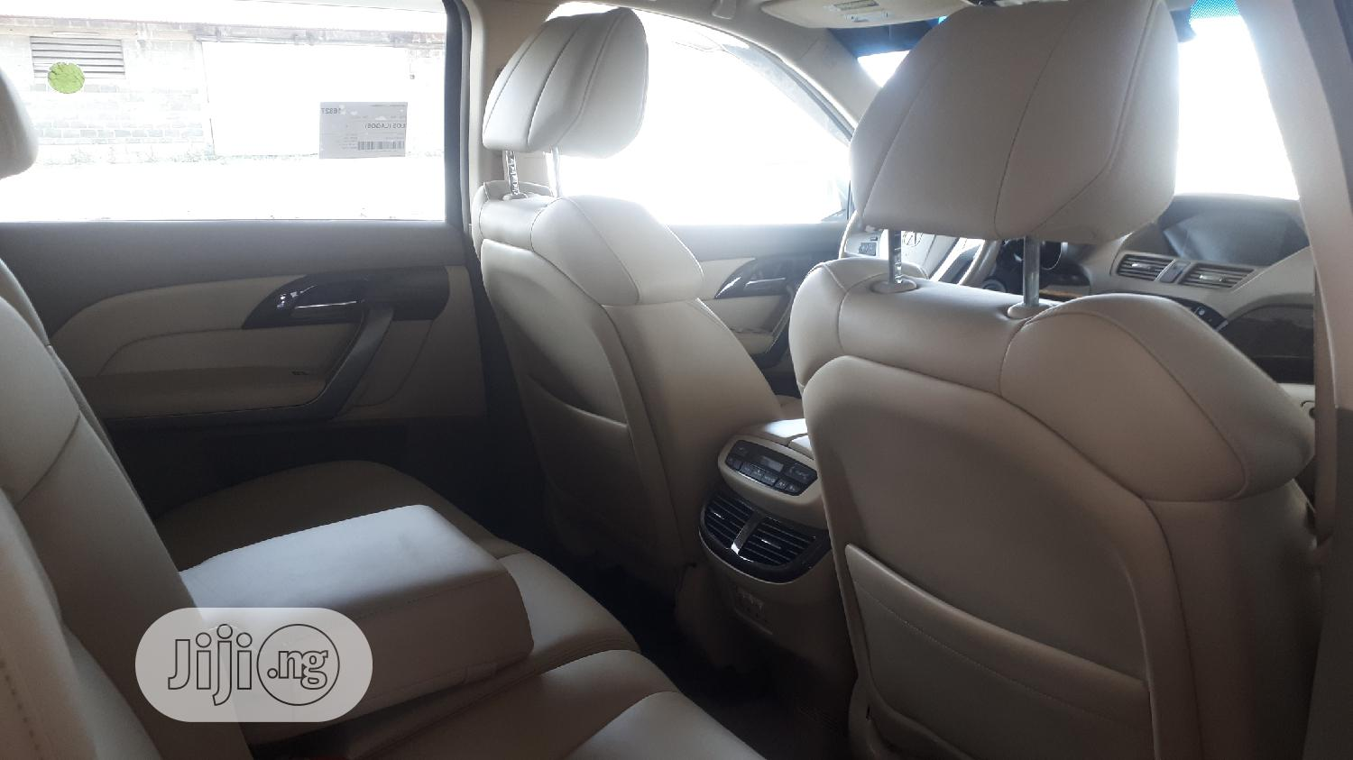 Acura MDX 2010 White   Cars for sale in Apapa, Lagos State, Nigeria