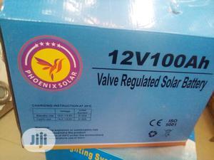 100amhs /12v, Solar Battry Available With Warrantty.   Solar Energy for sale in Ogun State, Ado-Odo/Ota