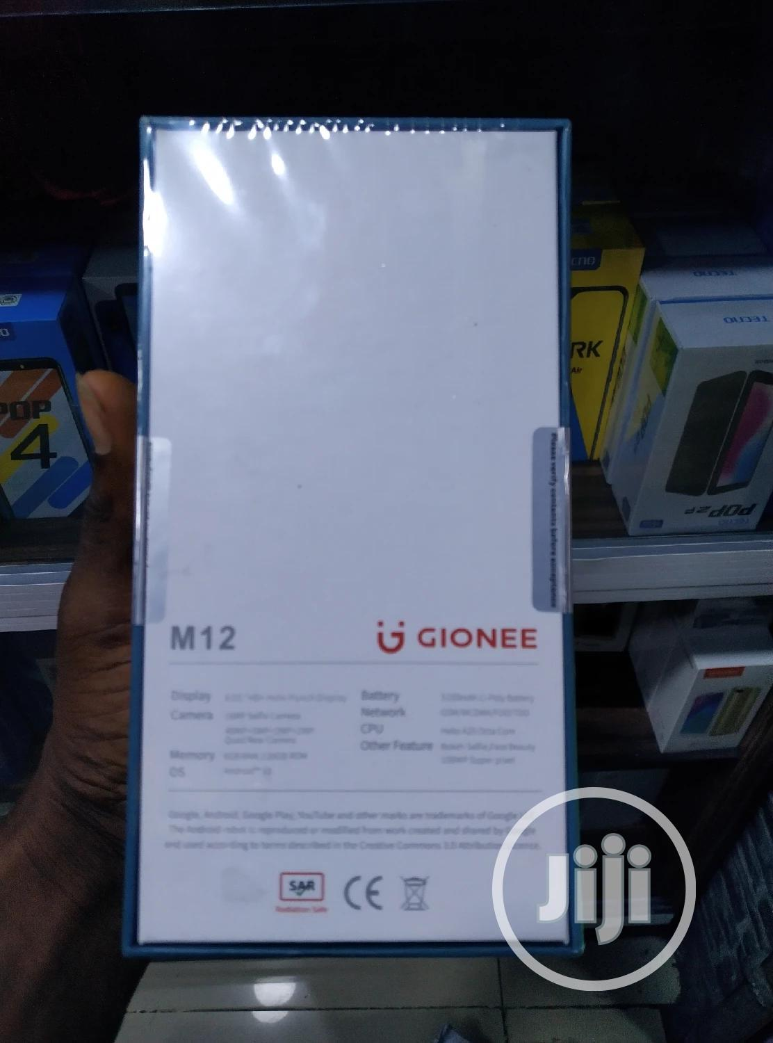 New Gionee M12 128 GB Black | Mobile Phones for sale in Ikeja, Lagos State, Nigeria