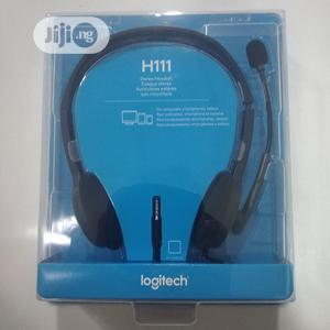 Logitech H111 Original Stereo Headset | Headphones for sale in Lagos State, Ikeja
