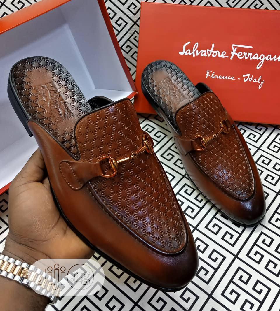 Salvatore Ferragamo Half Shoe   Shoes for sale in Lagos Island (Eko), Lagos State, Nigeria