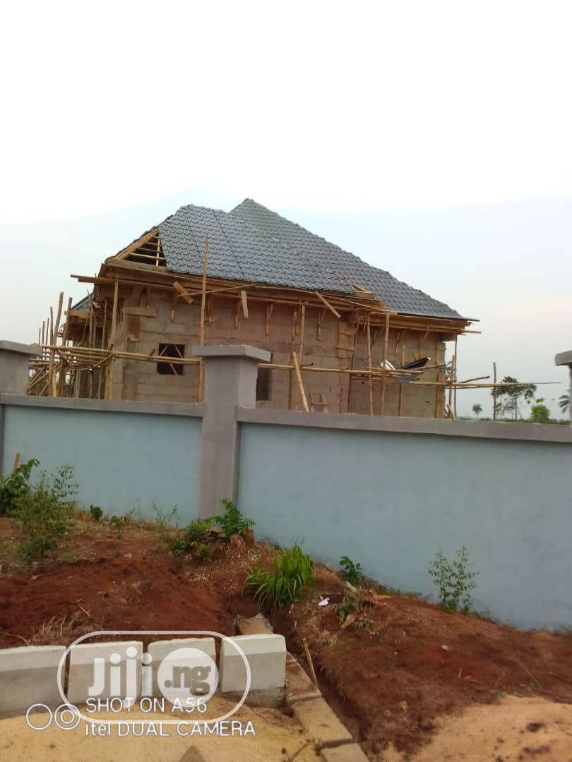 A Fully Detached 3 Bedroom Bungalows in Estate, Ibusa Asaba | Houses & Apartments For Sale for sale in Aniocha South, Delta State, Nigeria