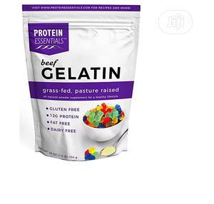 Protein Essentials Beef Gelatin Powder, Unflavo,Pasture-rais   Vitamins & Supplements for sale in Lagos State, Amuwo-Odofin