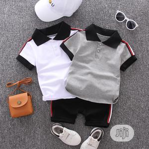 Two Piece Short Sleeve Polo and Short   Children's Clothing for sale in Lagos State, Lekki