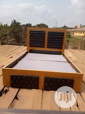 Wooden Bed Frame | Furniture for sale in Oyo State, Ibadan