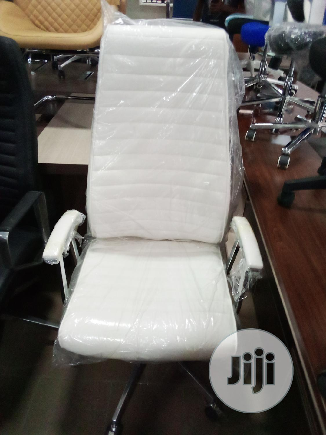 Executive Office Chair White