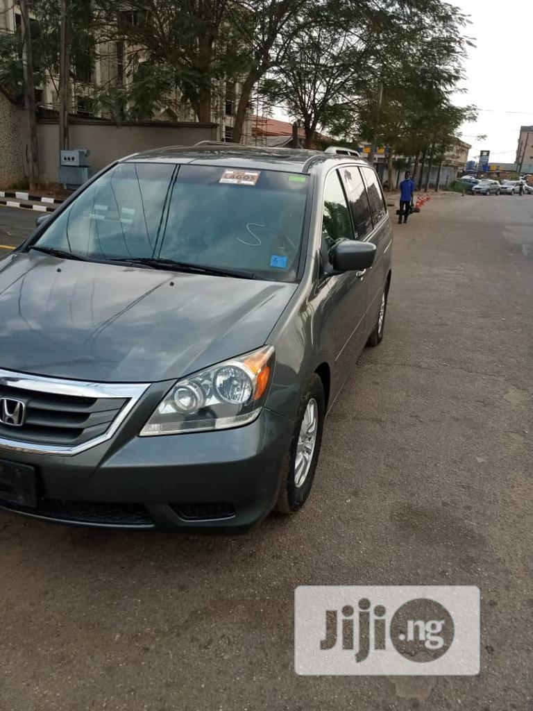 Honda Odyssey 2008 EX-L DVD Gray   Cars for sale in Ojodu, Lagos State, Nigeria