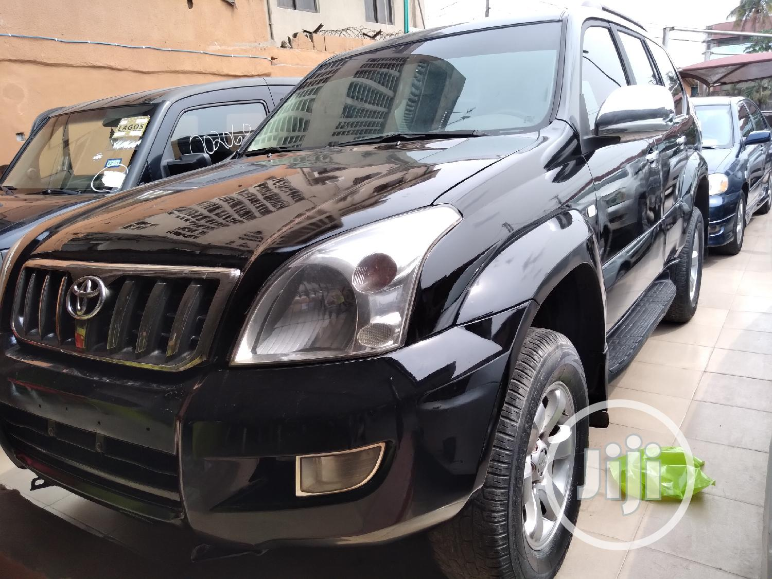 Archive: Toyota Land Cruiser Prado 2008 Black