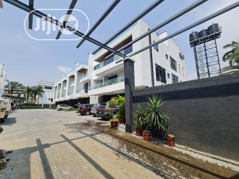 Archive: Luxuriously Finished 4 Bedroom Terrace Duplex With Bq at v I
